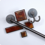 Arts and Crafts Glass Cabinet Hardware Collection