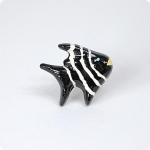 Striped Angel Fish Knob-Right Facing