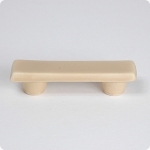 "Cobblestone Sand Rectangle 3"" Cabinet Pull"