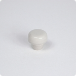 Matte Taupe Disk Cabinet Knob