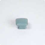 Domed Square Knob-Turquoise