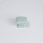 Domed Square Knob-Retro Green