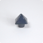 Gull Grey Pyramid Knob