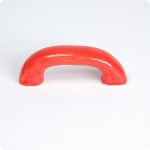 Retro Style Cabinet Pull-Persimmon Orange