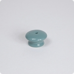 Round Knob w/ Center Screw-turquoise