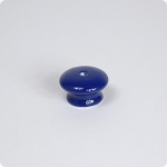 Round Knob w/ Center Screw-french blue