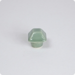 Retro Green Square Top Pyramid Cabinet Knob