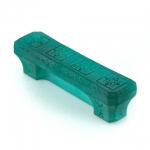 """Turquoise Etched Glass 3"""" Pull"""