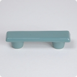 "Turquoise Rectangle 3"" Cabinet Pull"