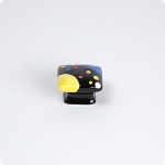 Domed Square Knob-Space