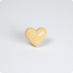 Heart Cabinet Knob-Lt. Baby Yellow
