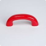 Retro Style Cabinet Pull-Cherry Red