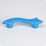 "True Blue Serpentine 3"" Cabinet Pull Left Facing"
