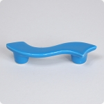 "True Blue Serpentine 3"" Cabinet Pull Right Facing"