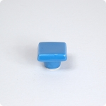 True Blue Square Cabinet Knob